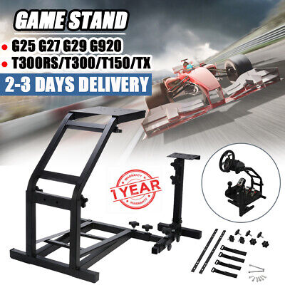 Steering Wheel Stand Racing Simulator Gaming For PS4 Logitech G25 G27 G29 G920 • 19£