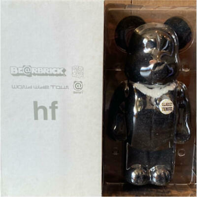 $459.98 • Buy BE@RBRICK X Fragment Design 400% World Wide Tour BWWT HF Flocked Black NEW
