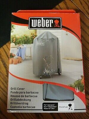 $ CDN19.68 • Buy Weber Available 7175 18 Inch Charcoal Kettle Grill Cover