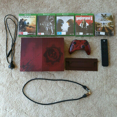 AU425 • Buy Microsoft Xbox One S Gears Of War Limited Edition 2 TB Console + Extras