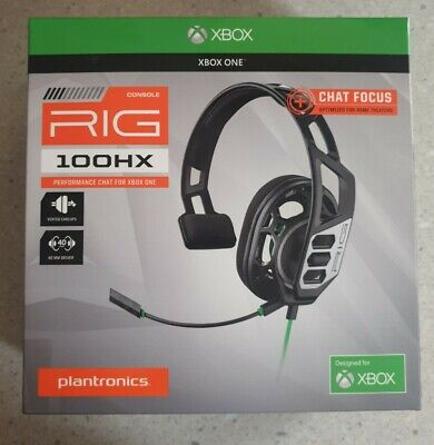AU35 • Buy Plantronics Rig 100HX For Xbox One, PS4, Laptops, Mobile Phones, And Tablets.