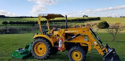 AU17000 • Buy East Wind Dfm454 Tractor And Flail