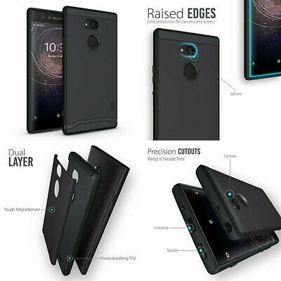 AU29.15 • Buy Sony Xperia XA2 Ultra Case Shockproof Durable Dual Layer Slim Cover Matte Black