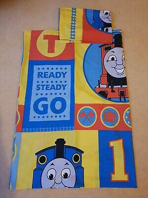 Vintage Single Duvet Cover And Pillow Case 2007 Thomas Tank Engine Fabric Ref3P • 16£