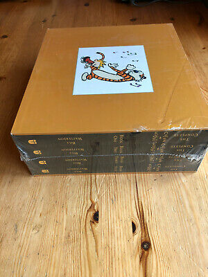 *BNIB* The Complete Calvin And Hobbes Box Set Collection Vol 1-4. Paperback • 89.99£