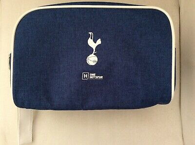 ONE HOT SPUR F.C. Official Membership Wash Bag Blue With Headphones New • 9.99£