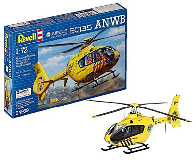 Revell Airbus Helicopters EC135 ANWB Model Kit, 1:72 Scale, 14.3 Cm • 13.03£