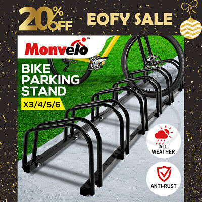 AU39.99 • Buy 1-6 Bike Stand Bicycle Rack Storage Floor Parking Holder Cycling Portable Stands
