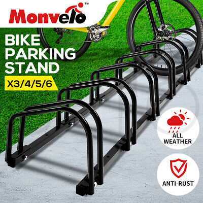 AU55.99 • Buy Monvelo 1-6 Bike Stand Bicycle Rack Storage Floor Parking Holder Cycling Stands