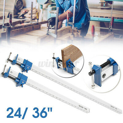 AU65.96 • Buy 36'' Quick Release Fix DIY Heavy F-Clamp Bar Clamp Fit For Woodworking Tool