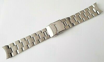 New 22mm Divers Stainless Steel Watch Strap/bracelet For Seiko Skx007 (se-19) • 29.99£