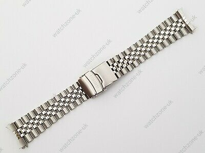 £24.99 • Buy New 22mm Divers Jubilee Stainless Steel Watch Strap/bracelet For Seiko (se-11)
