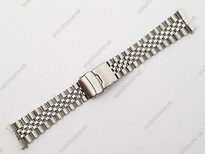 New 22mm Divers Jubilee Stainless Steel Watch Strap/bracelet For Seiko (se-11) • 24.99£