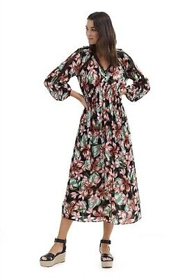 AU10 • Buy Country Road Hibiscus Print Maxi Size 12
