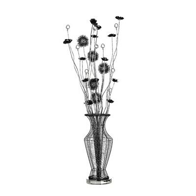 Bloom Black Flower Floor Lamp • 223.99£