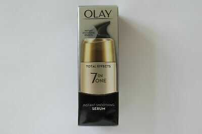 AU18.63 • Buy Olay Total Effects 7-In-1 Instant Smoothing Serum - 50ml