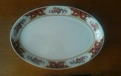 Vintage Retro Sampson Bridgwood Ltd Floral Serving Dish • 20£