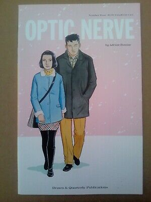 Optic Nerve Issue 4 By Adrian Tomine • 6£