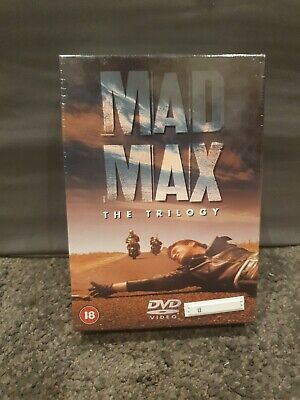 MAD MAX TRILOGY 1-3 PART 1 2 3 DVD Road Warrior Beyond Thunderdome UK Movie Film • 12£