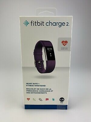 $ CDN129.99 • Buy Fitbit Charge 2 Heart Rate Monitor Fitness Tracker Wristband Large - Purple
