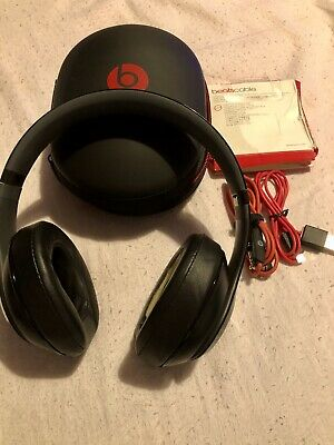 Beats Dr Dre Studio 2.0 Black Wired 100% Original Noise Cancelling Headphones🎧  • 55£