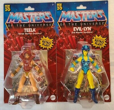 $49.99 • Buy NEW 2020 Masters Of The Universe Origins Teela And Evil-Lyn Bundle MOTU
