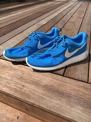 AU22 • Buy Nike Roshe Mens Sneakers, 11US, Good Condition, Cool Colour Blue