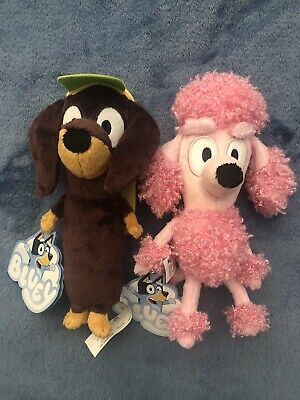 AU40 • Buy Bluey & Friends Snickers & Coco Small Plush Toys