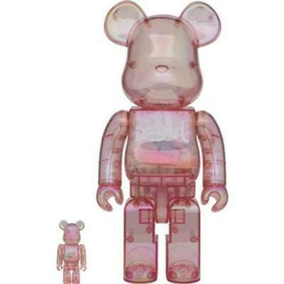 $929.99 • Buy BE@RBRICK Bearbrick  X-girl 2020  100% & 400% Medicom Toy Fgure Japan