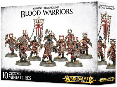 AU83 • Buy Warhammer Age Of Sigmar: Khorne Bloodbound Blood Warriors