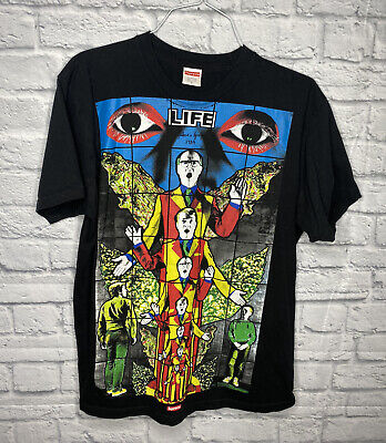 $ CDN91.47 • Buy Supreme T Shirt Gilbert And George 1984 Mens Large Black Used Official Supreme