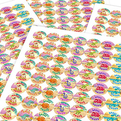 Chunky Hamster Doctor Brave Colourful Cute Dinosaur Sticker Labels Children Kids • 16.48£