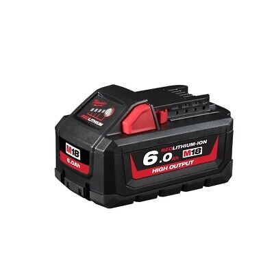AU150 • Buy GENUINE Milwaukee M18HB6 18V 6.0Ah Li-ion Cordless High Output Battery BRAND NEW