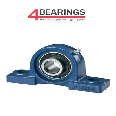 Ucp201 - Ucp212 12mm Self Lube Pillow Block Bearing Normal Duty Np12 - Np60 • 7.34£
