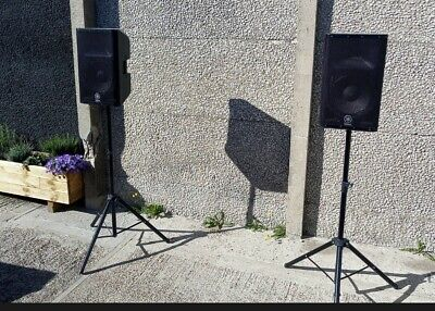 Yamaha DXR12 Active PA Speakers + Covers - DJ Wedding House Party DBR Monitor • 720£