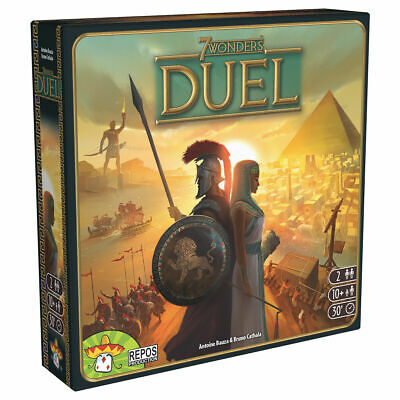 AU37.42 • Buy 7 Wonders Duel - The Game Play And Excitement Of The Original For 2 Players
