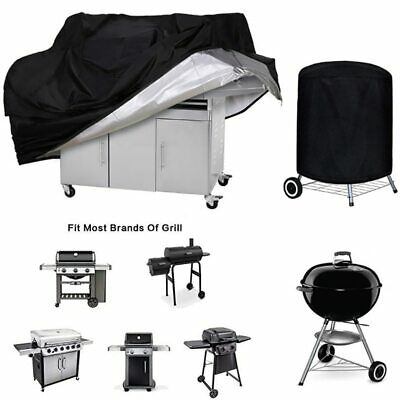 $ CDN19.59 • Buy BBQ Cover Outdoor Dust Waterproof Weber Heavy Duty Grill Cover Barbecue Cover