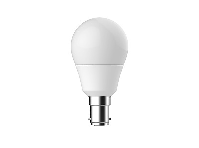 AU7.52 • Buy Energetic 6W Dimmable LED Fancy Round Light Bulb Globe B15 Warm White 3000K
