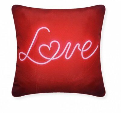 Red Valentine Love Cushion Super Filled Pillow 'Love' • 4.29£