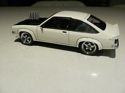 AU895 • Buy 1:18 INJECTED LX SS A9X TORANA IN PALAIS WHITE **rare Model One-off Build**