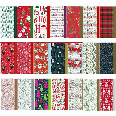 £2.25 • Buy 8 Sheets Christmas Tissue Paper Acid Free Large Luxury Xmas Gift Wrapping 50X70