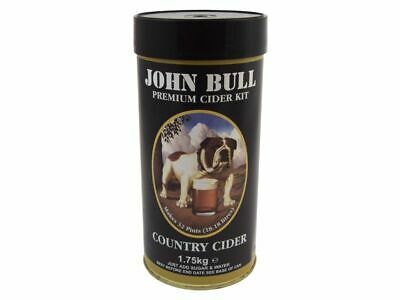 John Bull Country Cider Kit 1.8Kg 40 Pint 23 Litres New Homebrew Home Brew Beer • 22.20£