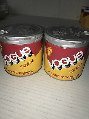 $ CDN15 • Buy Vogue Cigarette Tabacco Cans (lot Of 2)