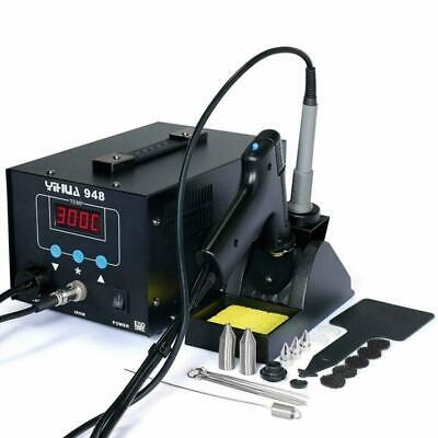 AU138.50 • Buy LCD Soldering Iron Desoldering 2in1 Station Vacuum Pump Gun YIHUA 948 ESD Safe