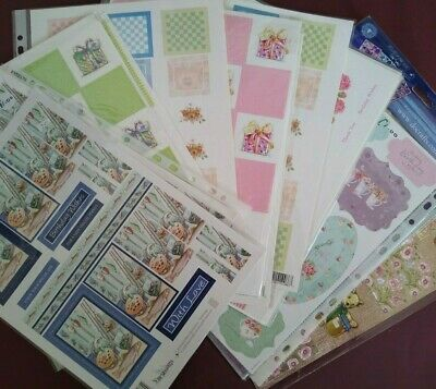 £1.25 • Buy Die Cut & Freestyle Card Toppers Approx A4 Sheets Please See Listing For Choices