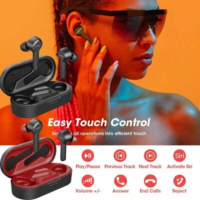 MPOW IPX7 Wireless Bluetooth 5.0 Earbuds 4-Mic Noise Cancelling Headphones 40Hrs • 32.79£
