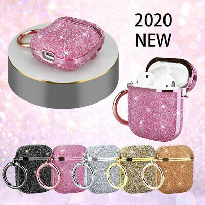 AU16.99 • Buy For Apple Airpods Pro 3 / 2 / 1 Luxury 3D Glitter Bling Hard Case Cover + Hook