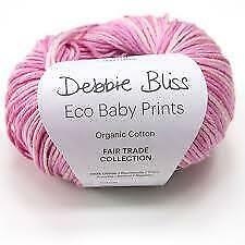 Debbie Bliss Eco Baby Prints Yarn & Knitting Supplies • 5.87£