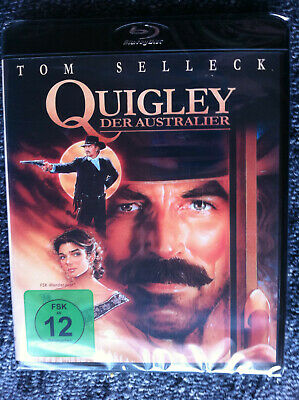 QUIGLEY DOWN UNDER - Blu Ray Region B ( UK ) - Tom Selleck • 16.88£