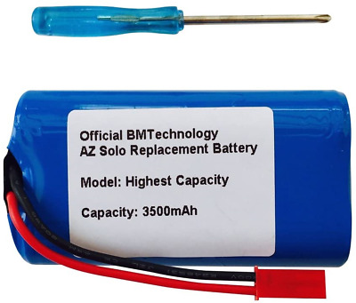 Replacement Battery For Arizer Solo 1 And Solo 2 3500mAh + Install Screwdriver • 35.08£
